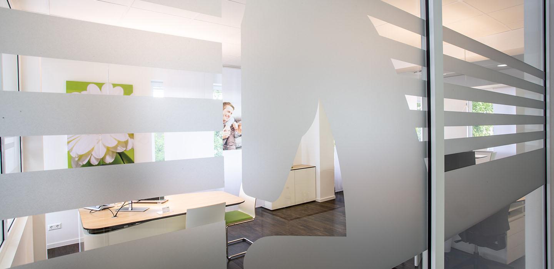 Ob Fensterdekor oder Sichtschutz...Fenstersichtschutz, Schaufensterwerbung